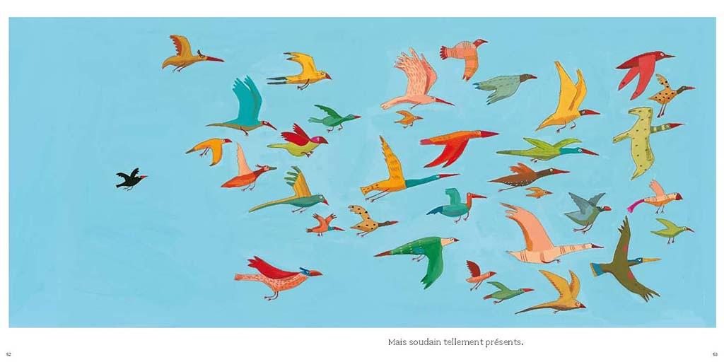 Gli uccelli - Germano Zullo, Albertine